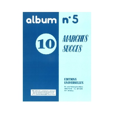 Album N°5 ? 10 Marches Succès