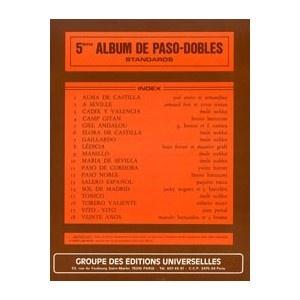 5ème Album De Paso-Dobles Standards