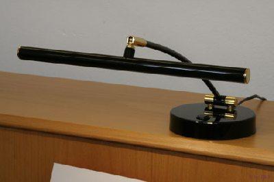 Lampe Led Pour Piano Droit Noire Poli Charniere En Laizon 2