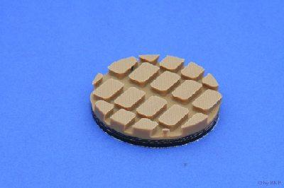 Isolateur Insonorisé 60 x 8 mm - Brun - Rond