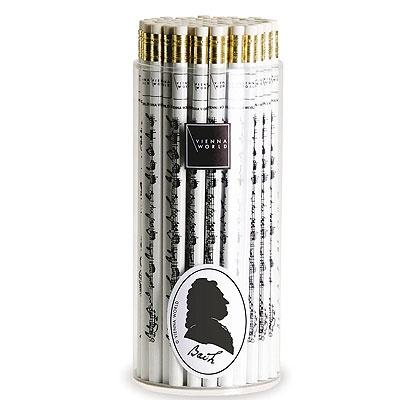 Crayon à Papier - Bach (Noir and Blanc)