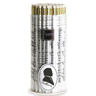 Crayon à Papier - Beethoven (Noir and Blanc)