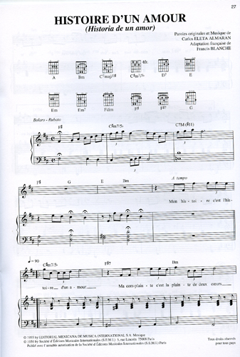 partition guitare bambino