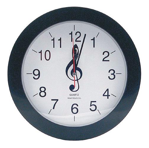 acheter horloge cl de sol wall clock treble clef. Black Bedroom Furniture Sets. Home Design Ideas