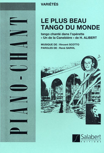Partition accordeon chromatique le plus beau tango du monde