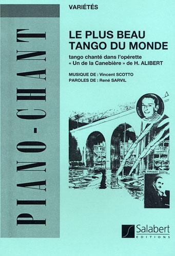 Partition accordeon le plus beau tango du monde
