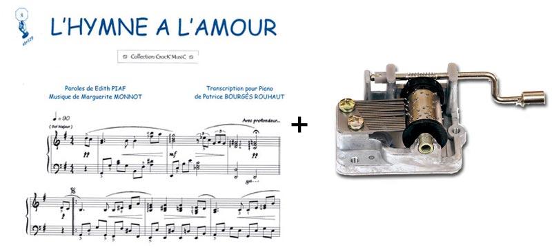 Edith Piaf - Hymne À L'Amour / L'Accordeoniste